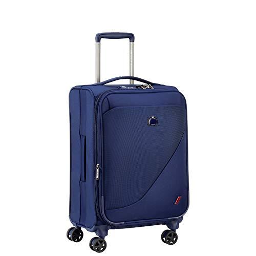 DELSEY Paris New Destination Valise, 55 cm, 40,7 L, Bleu Ma