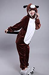 Mcdslrgo Unisex Adult Performance Clothing Piece Pajamas Anime Costume For Christmas Gift