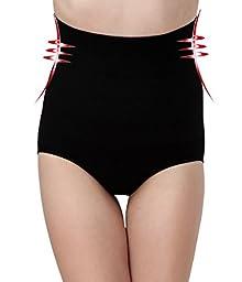 400ecd1e332 Black Tummy Control High Waist Panty Shaper Underwear(Free Size)