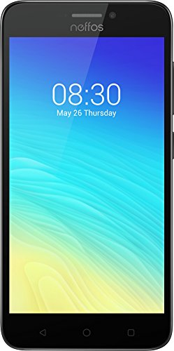 Image of TP-Link Neffos Y5s 4G LTE Smartphone, 5 Zoll HD Display (12,7cm), 16GB Speicher, Dual Sim, 8MP Kamera, Micro-SD-Kartenslot, Einsteigermodell, Android 7.1, Grau