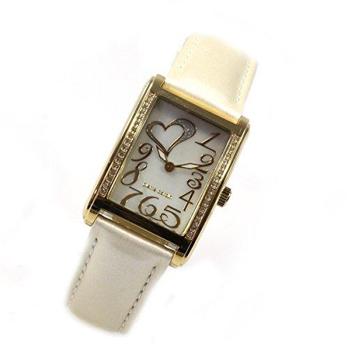 Pierre Cardin Classic Oro cuarzo strass Piel banda elegante mujer reloj pc105182s09
