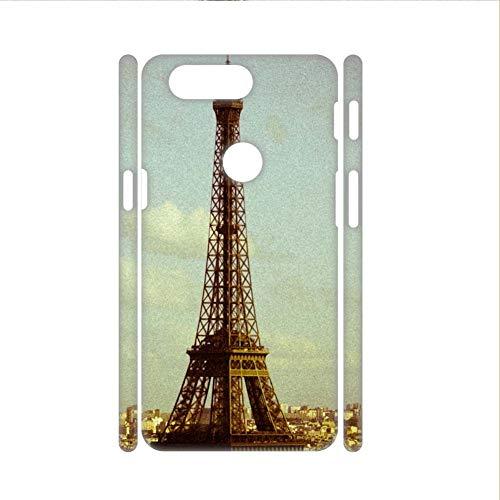 Babu Building Drucken Eiffel Tower Shell-Kunststoffe Auf 5T One Plus Gut Women