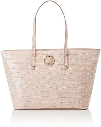 Versace Jeans Linea o, Borsa a Spalla Donna, 13x27x45 cm Rosa (Rosa Intimo)