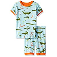 Hatley Short Pyjama Set - Swamp Gators