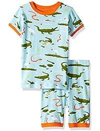 ec5c1f5ec6 Hatley Boys  Big Organic Cotton Short Sleeve Printed Pajama Set