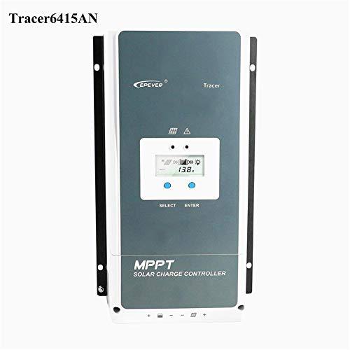 EPEVER MPPT Ladekontroller, 60 A, Solarmodul, 48 V/36 V/24 V/12 V, Auto Max 150 V 3000 W Eingang negativer Erdungs-Solarregler für AGM Gel überflutet User Tracer 6415AN -