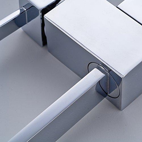 Auralum® Robinet Mitigeur évier à Rotation de 360°en Laiton Cuivre pour  Cuisine Design Moderne Lavabo Accessoires Cuisine