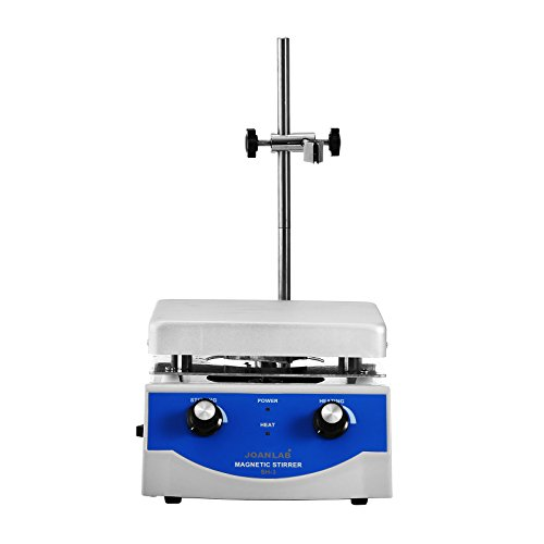 BananaB SH-3 Magnetrührer mit heizplatte 500W magnetic stirrer hot plate 170 * 170mm Magnetic Stirrer Mixer 3L (3L) (Magnetrührer-heizplatte)
