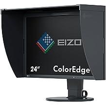 "Eizo ColorEdge CG248 - 4K Monitor Profesional 24"" 4K IPS (Resolución 3840 x 2160, angulo visión 178° ,350 cd, LED, HDMI, DisplayPort, calibrador integrado, visera incluida), Negro"
