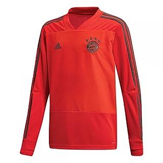 adidas Kinder 18/19 FC Bayern Training Top Trainingstrikot, red/Utility ivy, 164
