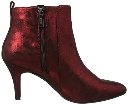 Lotus Damen Booney Stiefel Red (Red Shimmer)