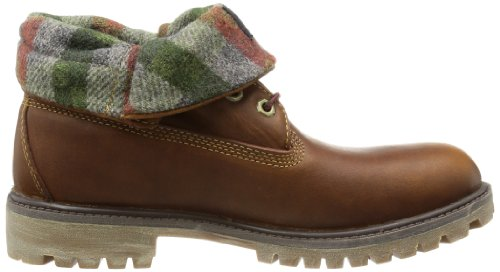 Timberland  Roll Top FTB_Roll Top L/F AF, bottine désert homme Jaune - Gelb (Wheat Forty with Woolrich)