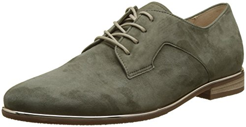 Gabor Shoes Damen Comfort Sport Derbys, Grün (Oliv S.Natur/Met), 40 EU