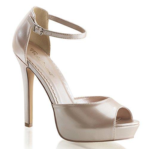 Heels-Perfect, Sandali donna Beige (Beige (Beige))