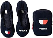 Tommy Hilfiger Tommy Heart Travel Pack, Women Slippers, Red (Rwb)