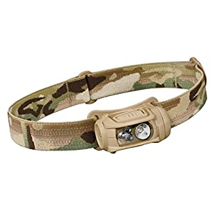 Princeton Tec Remix LED Headlamp (300 Lumens, with Red Leds), Multicam