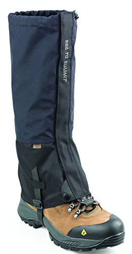 Sea to Summit Alpine Event Gaiters Größe Large Black - Kostbare Schnee Momente