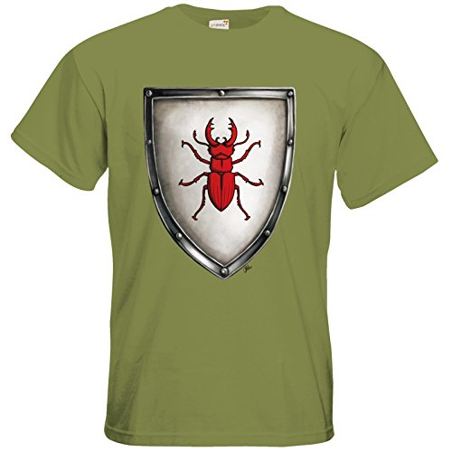 getshirts - Das Schwarze Auge - T-Shirt - Die streitenden Königreiche - Wappen Joborn Green Moss