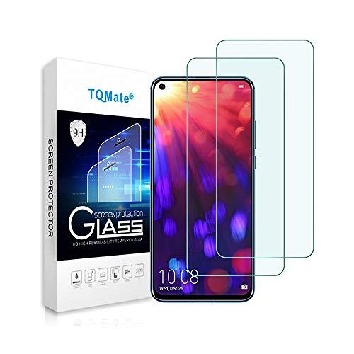 2Pack, Compatibile per Huawei Honor View 20, Vetro temperato con durezza 9H, Pellicola Protettiva, Resistente ai Graffi, Anti-Oil, Bordo Rotondo 2.5D