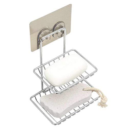 m Seifenschale Halter Kosmetische Sundries Double Layer Abstellflächen Badezimmer Küche Organizer ()