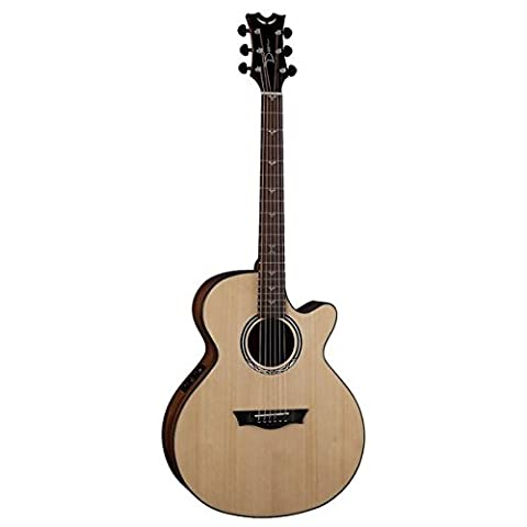 Dean Performer Mini Jumbo Acoustic-Electric Cutaway Guitar with Tuner