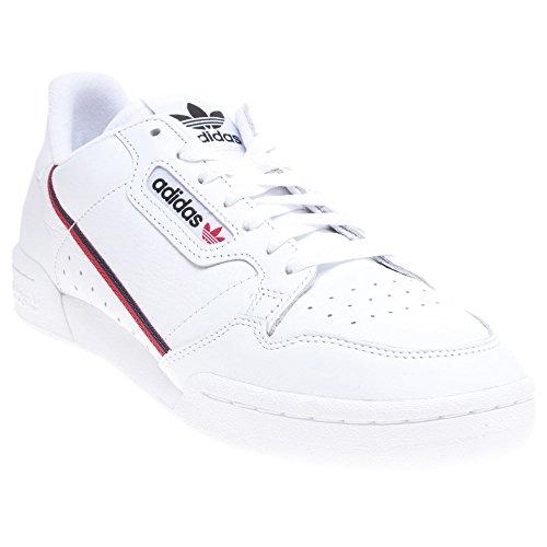 adidas Continental 80 Herren Sneaker Weiß 44 2/3 EU - Adidas Originals Turnschuhe