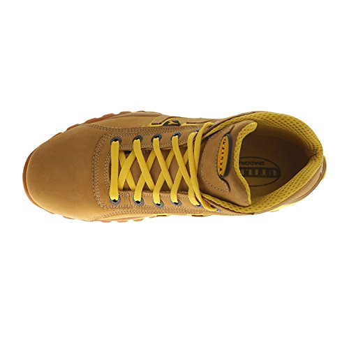 Diadora Glove H S3-Hro-Sra Scarpe Antifortunistiche Marrone (Light Brown, Yellow)