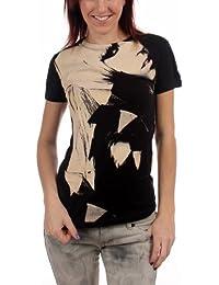 Lady Gaga - - Close Up jungen Frauen T-Shirt in Schwarz