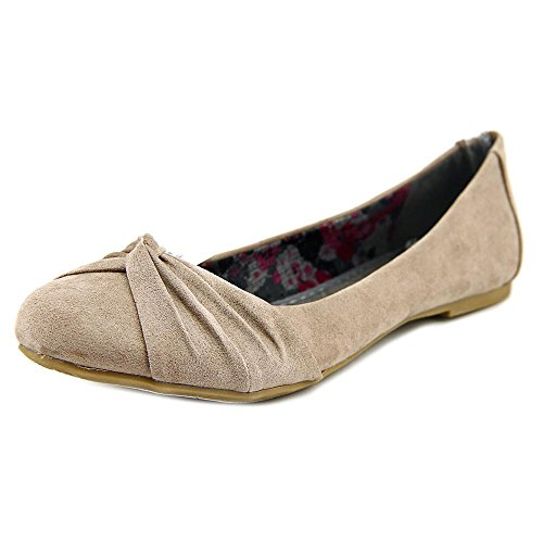 Report Mariann Simili daim Chaussure Plate Taupe