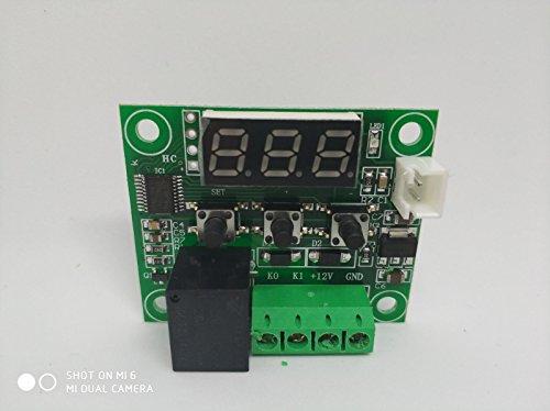 Tenflyer Enfriar Temperatura Termómetro Interruptor de control de la temperatura del termostato...