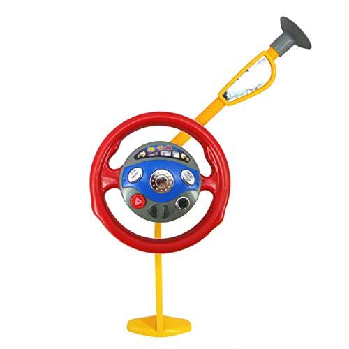 LouiseEvel215 Kinder, die Spielzeug Spielen Lustige elektronische Rücksitz Fahrer Auto Sitz Lenkrad Kinder Kinder Fahren Spielzeug