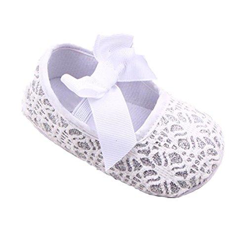 Weiche Baby Bzline® Krabbelschuhe Sneaker Weiß Kleinkind rutsch Anti Sohle xBxqH1X