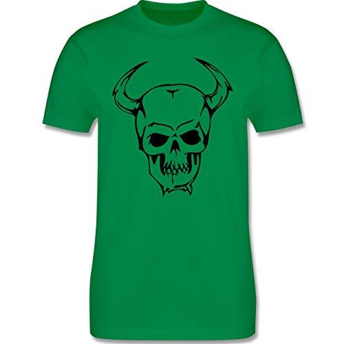 Piraten & Totenkopf - Totenkopf - Herren Premium T-Shirt Grün