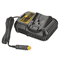DeWalt Lithium Ion Car Battery Charger for 10.8V/ 14.4V/ 18V XR Batteries 1.5Ah or 3Ah