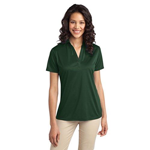 Port Authority Damen Wicking Performance Polo Shirt Gr. XXX-Large, dunkelgrün
