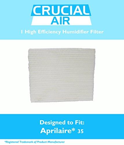 Unbekannt aprilaire 35Papier Wick Luftbefeuchter Wasser Pad-Filter passt 350, 360, 560, 560A, 568, 600, 700, 760, 760A, 768(35), entworfen und hergestellt von Crucial Air (Wasser-wicking-filter)