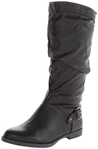 Easy Street Vigor Plus Wide Calf Femmes Synthétique Botte Black