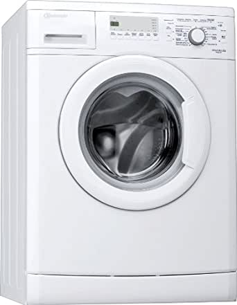 machine laver bauknecht wak 62 chargement frontal a b 1400 tr min 6 kg blanc cran. Black Bedroom Furniture Sets. Home Design Ideas