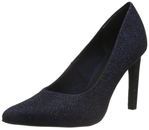 Marco Tozzi Damen 22425 Pumps, Blau (Navy Metallic 824), 36 EU