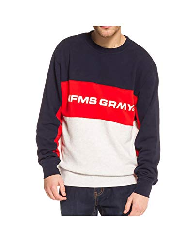 Grimey Sudadera COUNTERBLOW Infamous Crewneck SS18 Navy-M