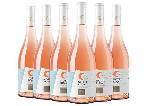 Salento igp primitivo rosato box da 6 bottiglie notte rossa 2018 0,75 l