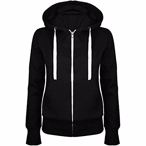 mttroli Frauen Hoodies Sweatshirts Fashion Fronttasche Reißverschluss Casual Hooded Tops Mäntel Jacken (Cashmere Mantel Baker)
