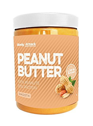 Body Attack Peanut Butter, Smooth (1 x 1 kg)