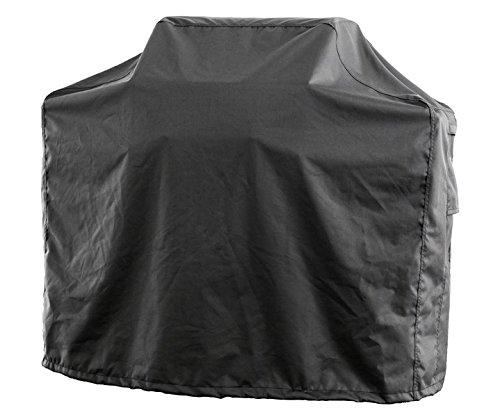 Gasgrill Grill Abdeckung Abdeckhaube Schutzhülle BBQ, Luxus Edition, Gr. S Square (134,5 x 57 x 119 x 112 cm, Skizze A-B-C-D), Farbe Carbon, 100% Polyester (600D) PU beschichtet, A28