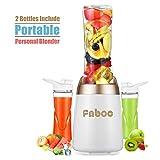 Fnboc Personal Blender Smoothie Maker 300W Powerful Motor Mini Juice Blender Fruit Mixer