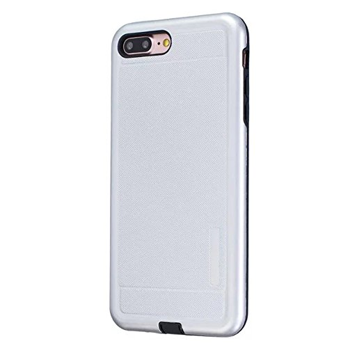 JIALUN-étui pour téléphone Housse de protection en couleur pleine couleur pour Apple IPhone 7 Plus 5.5 pouces ( Color : Silver ) Silver
