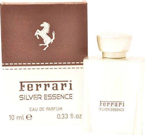 Ferrari Silber Essenz 10ml Eau de Parfum Duft Spray für Ihn mit Geschenk Tüte