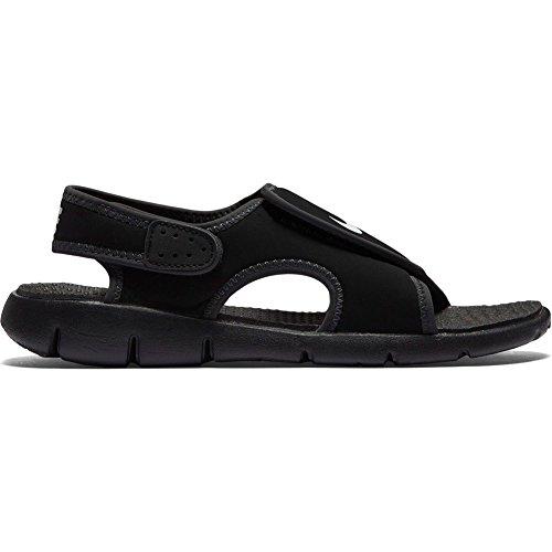 Nike Sunray Adjust 4 (GS/PS), Chanclas Para Niños, Negro (Black/White/Anthracite 011), 36 EU