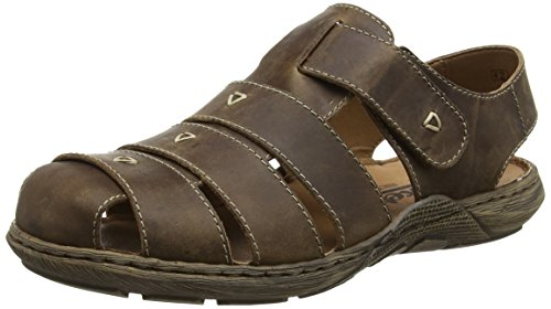 Rieker 22071 Sandals-Men, Herren Slingback Sandalen, Braun (tabak/26), 43 EU