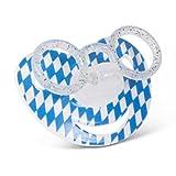 Boarischer Dizzl/Schnuller Größe 0 - 6 Monate